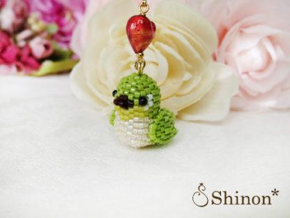 Shinon* HappyBirdシリーズ めじろ