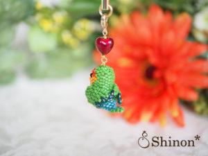 Shinon*ビーズ Happy♡Birdシリーズ(コザクラインコ)