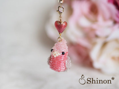 Shinon* Happy Birdシリーズ モモイロインコ