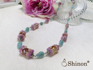 Shinon* フルーレットネックレス